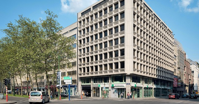 rent offices in Brussels, office building to let