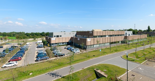 Storage Hall, semi-industrial setting in Brabant Wallon