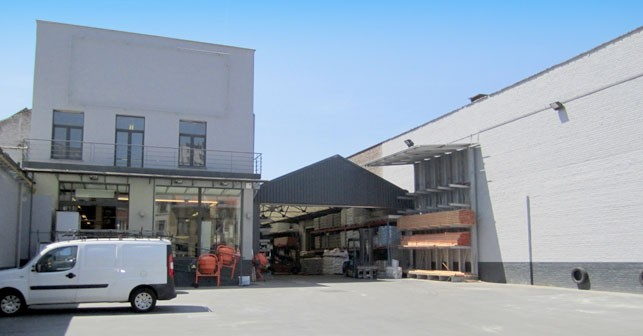 Rental of commercial area with storage space in Brussels